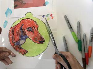 dog pop art